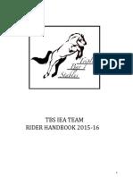 TBS IEA Handbook 2015-2016