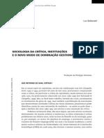 Boltanski, L. Sociologia da crítica, instituições e o novo modo de dominação gestionária..pdf