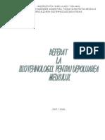 Metode Biotehnologice de Reciclare a Produselor Reziduale Din Industria Berii
