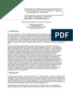 Software Agent Technology-An Overview