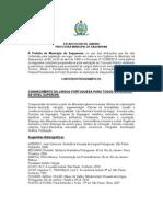 Conteúdos Programáticos Saquarema 2015