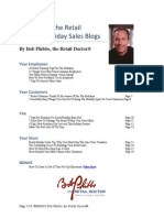 Best of Bob Phibbs Holiday Blogs