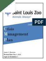 crisis management plan final