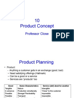 Chapter 10 Product Concepts