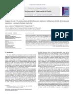 Supercritical CO2 Extraction of Helichrysum Italicum