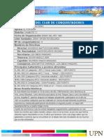 Reseña Del Club de Conquistadores Antares - Chimbote c Con Formato