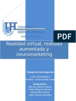 neuromarketing, realidad aumentada y virtual