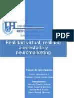 neuromarketing, realidad aumentada y virtual