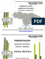 Hercon Diagnostico Telefonico Junio 2015