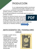 Línea del tiempo del Federalismo en México.pptx