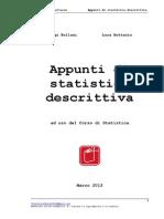 Accesso Economia e Management - Dispense Statistica