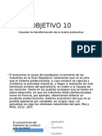 OBJETIVO 10, 11, 12