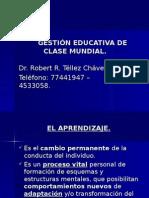 Gestión Educativa de Clase Mundial