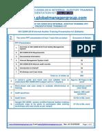 HACCP/ISO 22000-2005 Training & Presentation Kit
