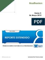Reporte 15PF+ Extendido