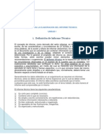 Guia Unidad i Para La Elaboracion Del Informe Tecnico