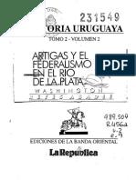 Artigas y El Federalismo en El Río de La Plata. Reyes Abadie