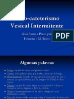 Auto-Cateterismo Vesical Intermitente