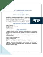 Guia Unidad II Para La Elaboracion Del Informe Tecnico