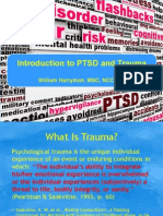 Intro to PTSD and Trauma