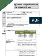 Rapport Brainstorming BEM-Départenment MM Du 03 06 2014 (Mois de MAI)