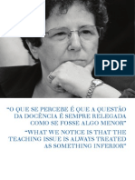 entrevista Bernardete Gatti