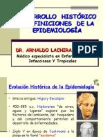 1. Desarrollo Historico y Definiciones de La Epidemiolog_a