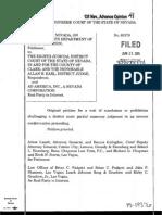 State of Nevada ex rel. Dep't of Transportation v. Eighth Judicial Circuit, No. 15-19376 (Nev. June 25, 2015)