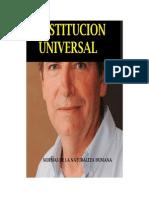 UNIVERSAL CONSTITUTION CONSTITUCION UNIVERSAL