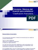 Conceptos Basicos de Clasificacion Arancelaria