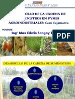 Desarrollo de La Cadena de Suministros en Pymes Agroindustriales