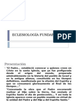 Eclesiologia Fundamental