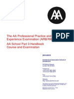 Appendix C Academic Regulations 2014-AA Part 3 Handbook