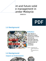 Current and Future Solid Waste Management in Iskandar_28.8.2014