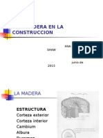 La Madera en La Construccion 20151