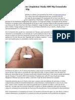 Prospecto Ibuprofeno (Arginina) Stada 600 Mg Granulado Para Solucion Oral Efg