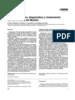 Complicaciones, Diagnóstico y Tratamiento Del Diverticulo de Meckel