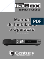 Manual Do Midiabox 7050 Century