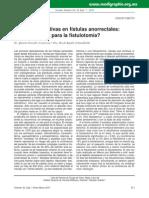 Nuevas Alternativas en Fístulas Anorrectales_ Hay Lugar Aún Para La Fistulotomía