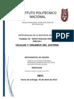 Celulas y Organos Del Sistema Inmune Biote de La Respuesta Inmune (1)