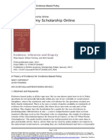 A Theory of Evidence for EvidenceBased Policy