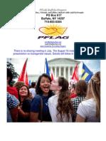 July PFLAG Buffalo-Niagara Newsletter 2015