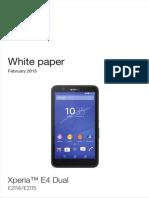 Whitepaper en e2114 2115 Xperia e4 Dual