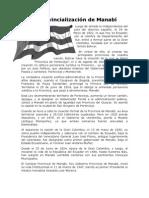 La Provincialización de Manabí