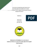 Proposal Skripsi - Upaya Guru PAI Dalam Meningkatkan Minat Baca AlQuran