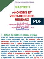 Phonons Rabat