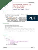 Manejo Odontoloتgico Del Paciente Con Patologةa Pulmonar