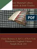Textiles - English Textiles