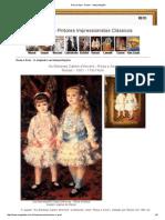 Rosa e Azul - Renoir - Interpretações