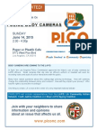 pico nc police body camera flyer